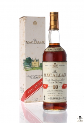 Macallan 10 years old 57% Full Proof