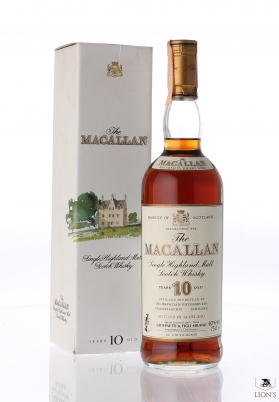 Macallan 10 years old Giovinetti