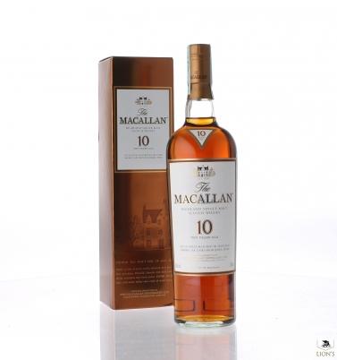 Macallan 10yo sherry new presentation