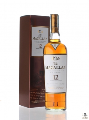 Macallan 12 years sherry wood