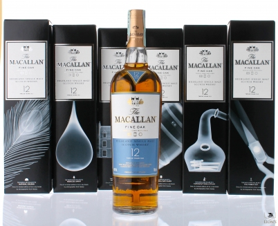 Macallan 12 years old x-ray Edition 6 bottles pack