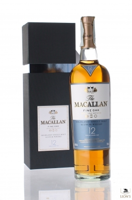 Macallan 12 years old Fine Oak Gift Pack