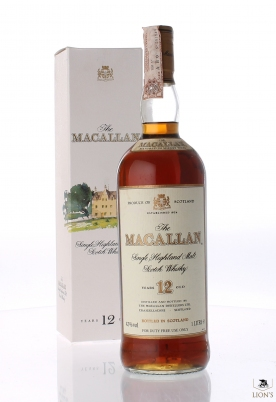Macallan 12 Years Old  1 litre