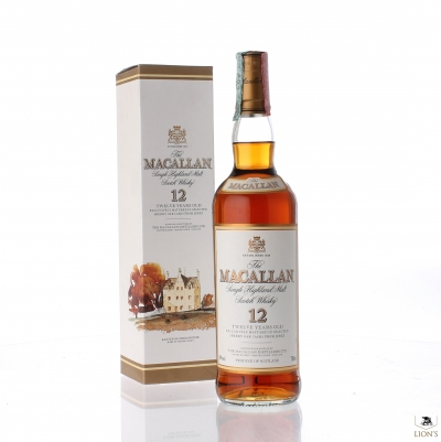 Macallan 12yo 70cl easter elchies 40%