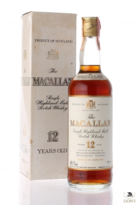 Macallan 12 years old metal cap