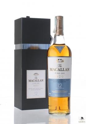 Macallan 12yo fine oak gift pack