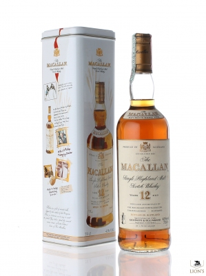 Macallan 12 years old tin box