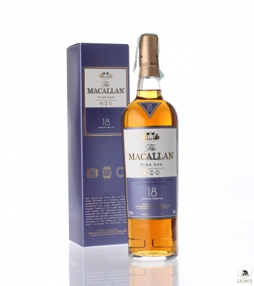 Macallan 18yo fine oak 43% 70 cl