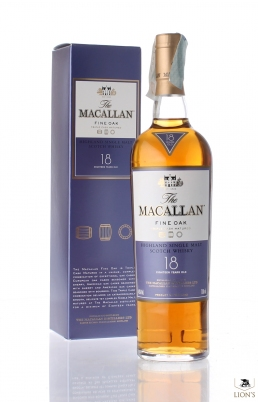 Macallan 18yo Fine oak