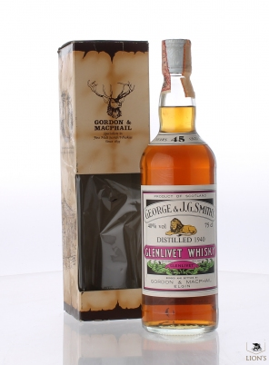 Glenlivet 1940 45 years old