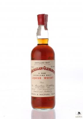 Macallan 1937 G&M Liqueur whisky