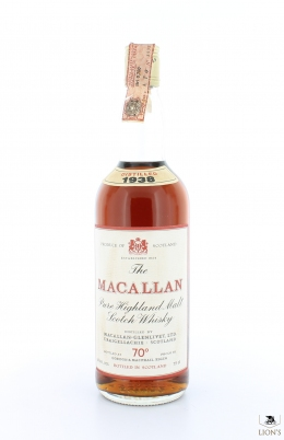 Macallan 1938 70 Proof G&M