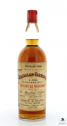 Macallan 1940 Donini Signed by Giaccone in 1979