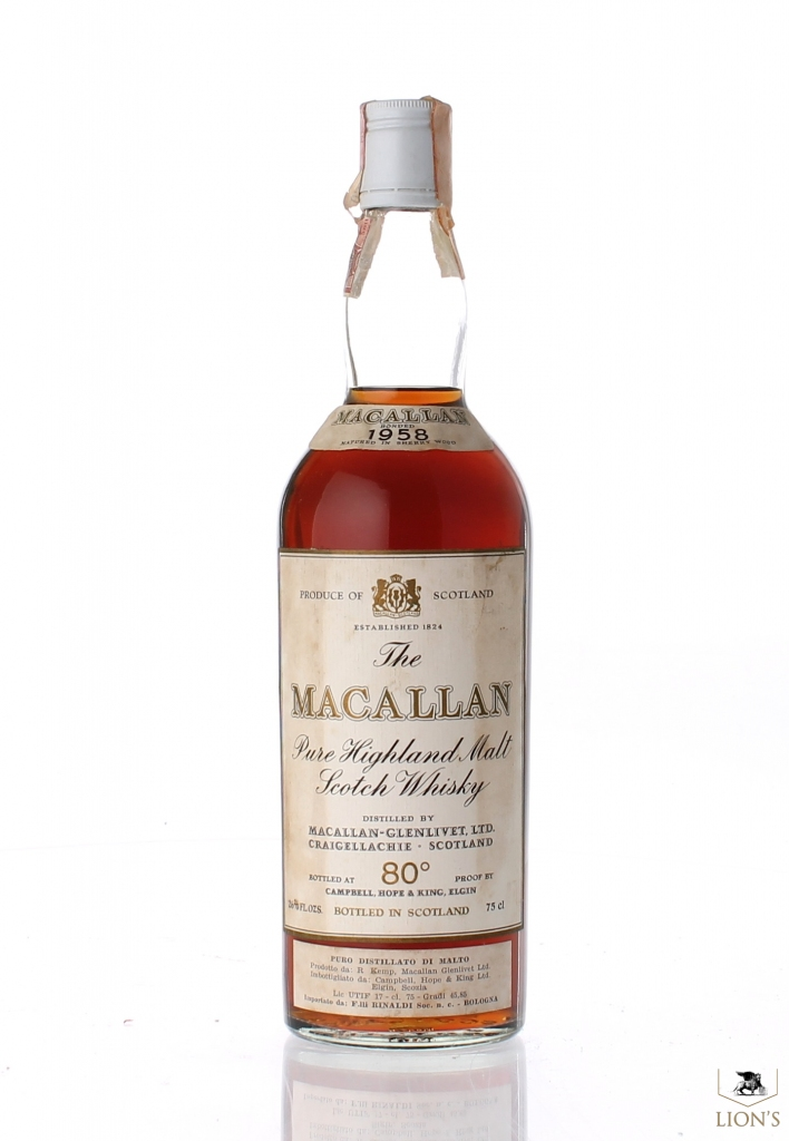 macallan 1958 rinaldi one of the best types of scotch whisky. Black Bedroom Furniture Sets. Home Design Ideas