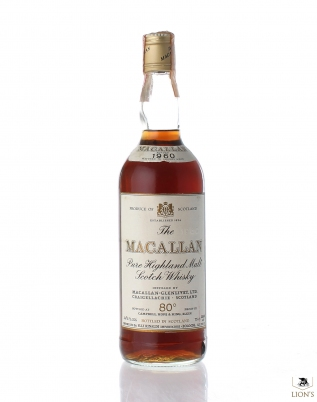 Macallan 1960 Rinaldi Import