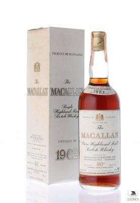 Macallan 1962  46% 75cl