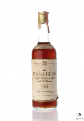 Macallan 1963 Rinaldi imp.