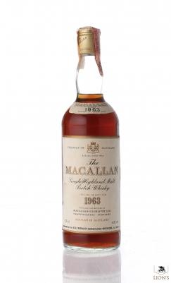 Macallan 1963 43% 75cl
