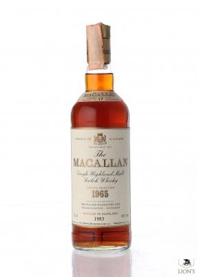 Macallan 1965 17 years old Rinaldi imp.