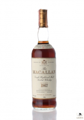 Macallan 1967 18 Years Old