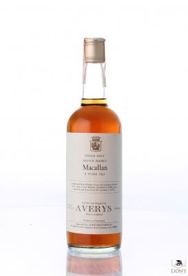 Macallan 1969 8 years old Averys for Corti