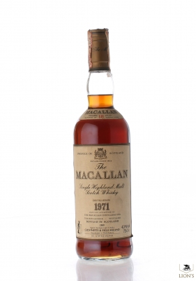 Macallan 1971 18 years old