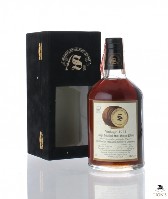 Macallan 1971 27 years old 54.2% Signatory