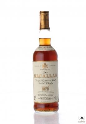 Macallan 1972 18 years old