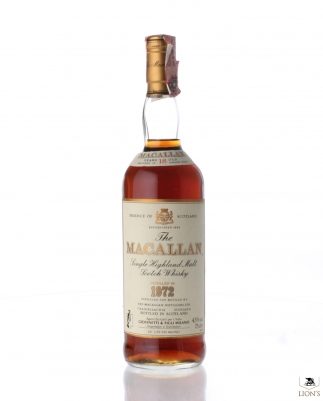 Macallan 1972 18 years old Giovinetti imp.
