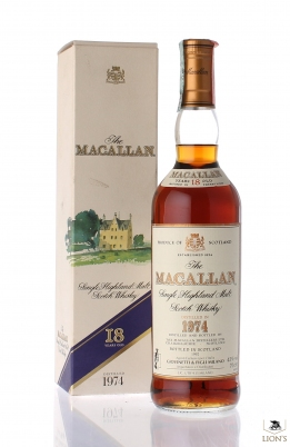 Macallan 1974 18 years old
