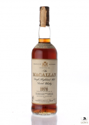 Macallan 1976 18 years old