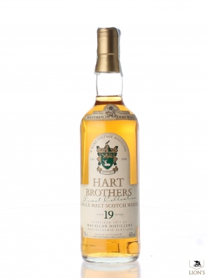 Macallan 1977 19 years old Hart Brothers