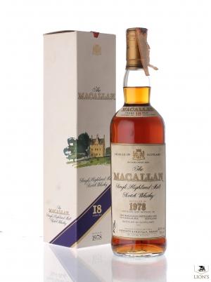 Macallan 1978 18 years old Giovinetti imp.