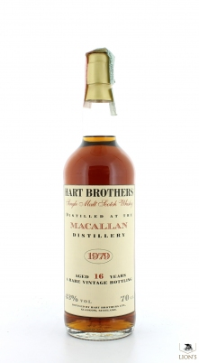 Macallan 1979  16yo Hart Brothers