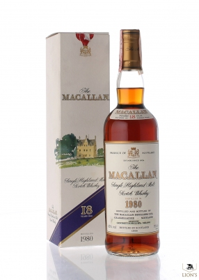 Macallan 1980 18 years old