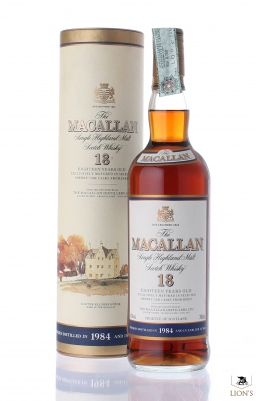 Macallan 1984 18 years old