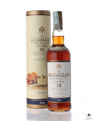 Macallan 1985 18 years old