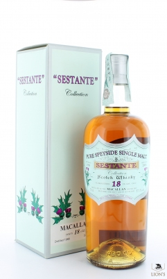 Macallan 1988 18 years old Silver Seal Sestante