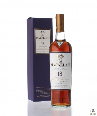 Macallan 1988 18 years old