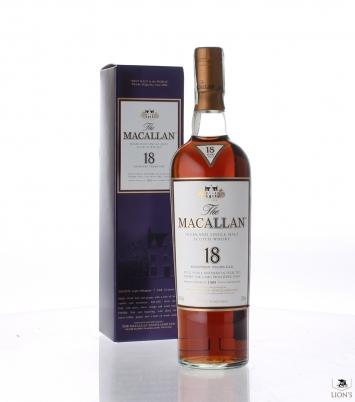 Macallan 1989 18 years old