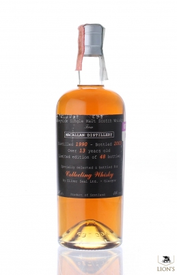 Macallan 1990 13 years old Silver Seal Sestante