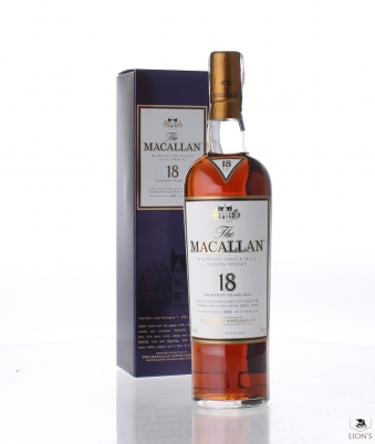 Macallan 1995 18 years old