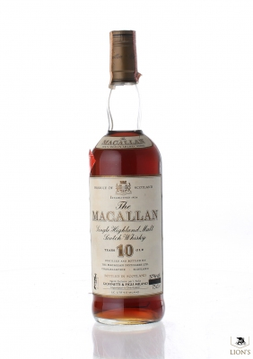 Macallan 10yo 57% 75cl 100proof Giovinetti