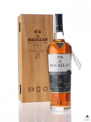 Macallan 21 years old Fine Oak