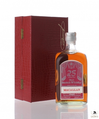 Macallan 25 Years old 1952 Queen's Silver Jubilee