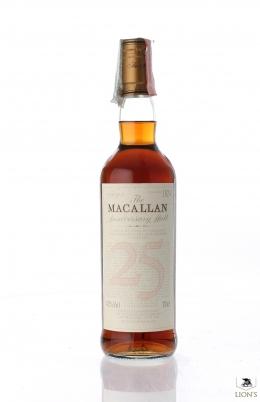 Macallan 25 years old