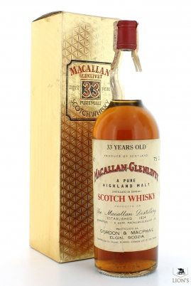 Macallan 33 Years Old 75cl G&M