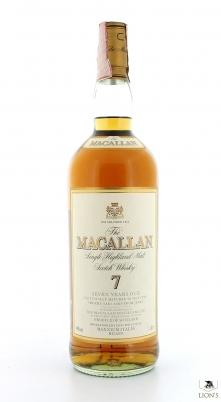 Macallan 7yo 1 litre Maxxium