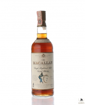 Macallan 7 years old 75cl Giovinetti