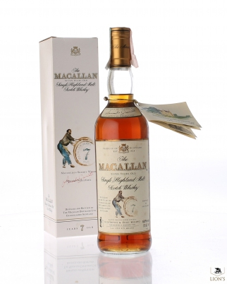 Macallan 7 years old Giovinetti, with booklet